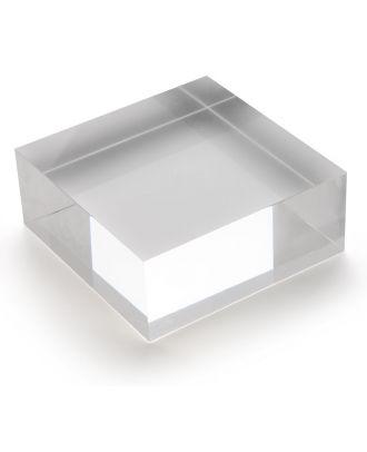 Bloc plexiglas d'agencement 100 x 40 x 100 mm