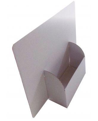 Présentoir A5 carton PCCLARGA5 vierge de coté