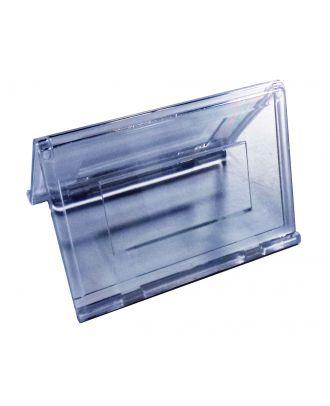 Porte étiquette prix plexiglas 85 x 54 mm PPK769
