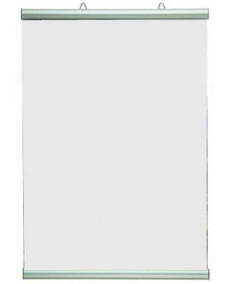 Cadre A2 porte affiche PROFILE400 avec visuel vierge