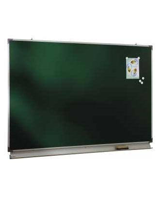 Tableau d'écriture émaillé vert NF 120 x 200 cm