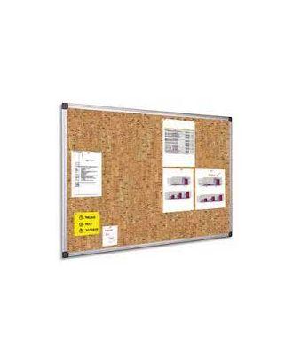 Tableau liège décoratif 45 x 60 cm cadre alu