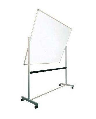 Tableau rotatif laqué 90 x 180 cm avec axe horizontal