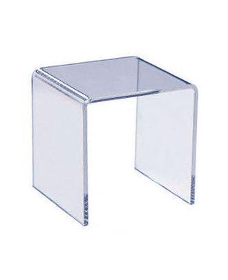 Podium plexiglas U carré 400 x 400 x 400 mm