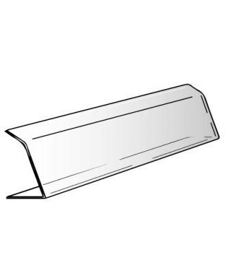 Vitrine plexiglas alimentaire 2 plis 100 x 20 x 30 cm