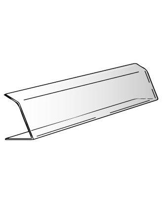 Vitrine plexiglas alimentaire 2 plis 75 x 20 x 20 cm